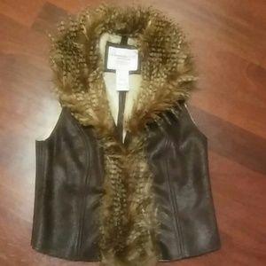 American Rag Faux Fur Vest